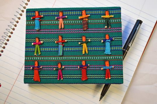 Worry Dolls Notebook_#Globein
