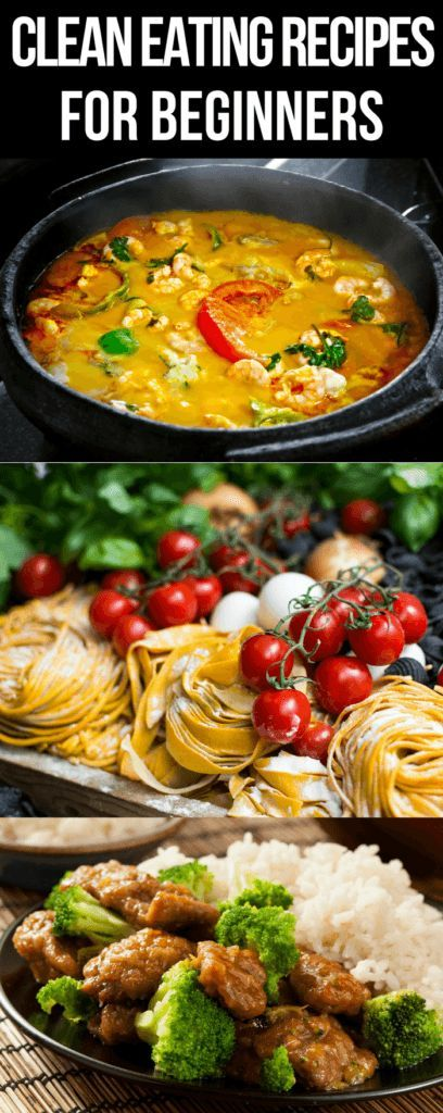 Clean Eating Recipes for Weight Loss! 50 Healthy Recipes for Every Meal of the Day images