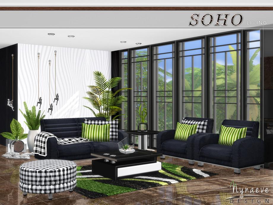 NynaeveDesign's Soho Living Room in 2020 | Living room ...