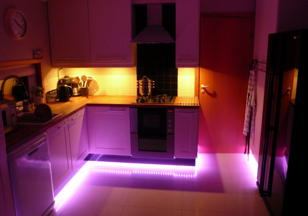 LED Lights Can Make A Difference Buy Now Httpsclick - Kitchen plinth strip lighting