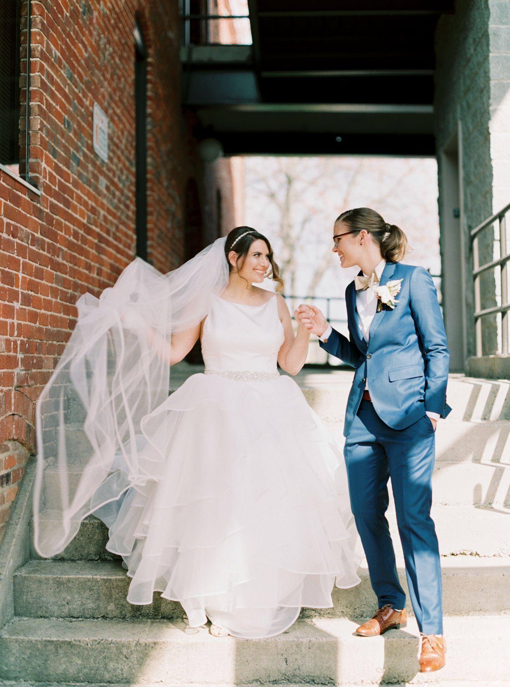 Image result for lesbian wedding suit | wedding | Pinterest ...