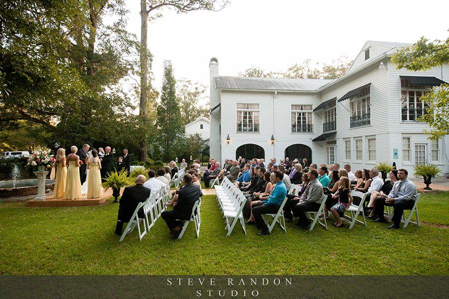 Weddings In Covington, La-Outdoor Wedding Ceremony At