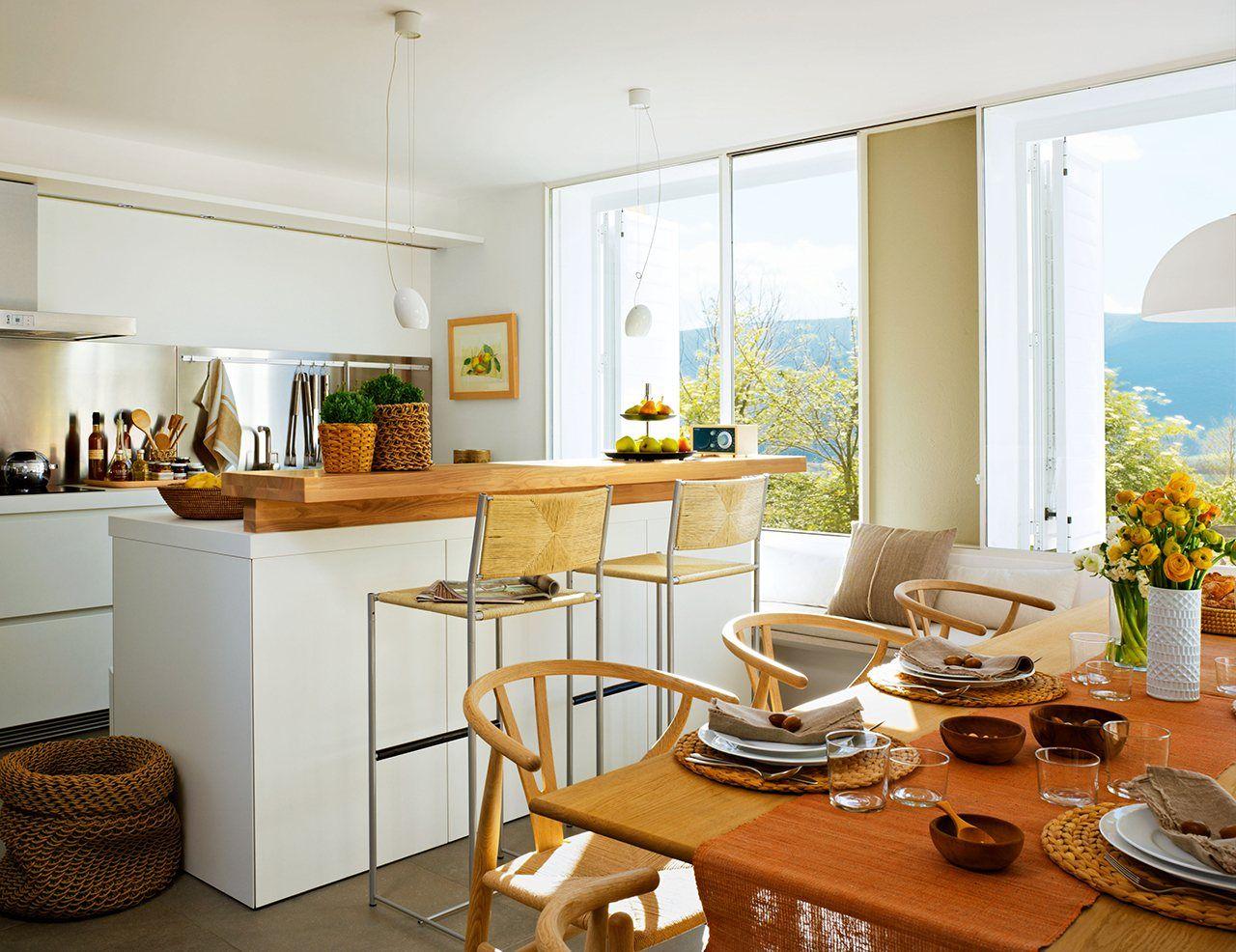 Cómo crear un office en tu cocina (tengas el espacio que tengas ...
