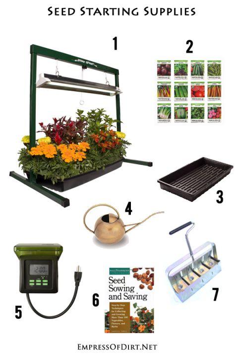 Best Low Cost Indoor Seed Starting Supplies Plant Nurserygarden