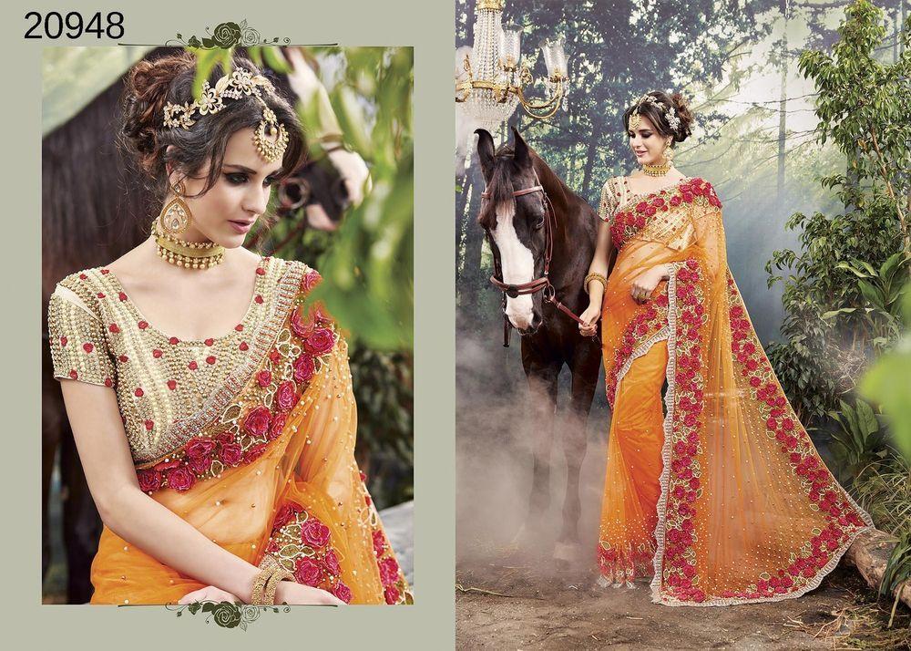 Indian Sari Partywear Designer Ethnic Dress Wedding Bollywood Pakistani Saree