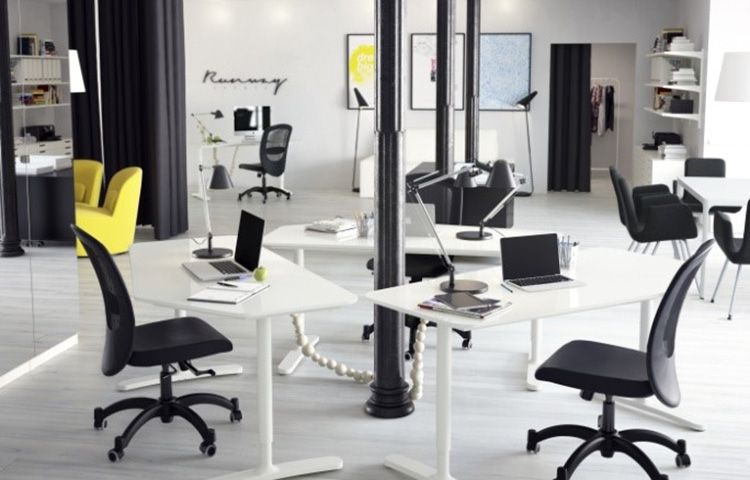 The New IKEA BEKANT Sit Stand Desk Can Be Adjusted With the Push of a. The New IKEA BEKANT Sit Stand Desk Can Be Adjusted With the Push