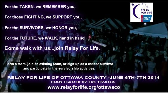 Ask me how you can join Relay For Life!!