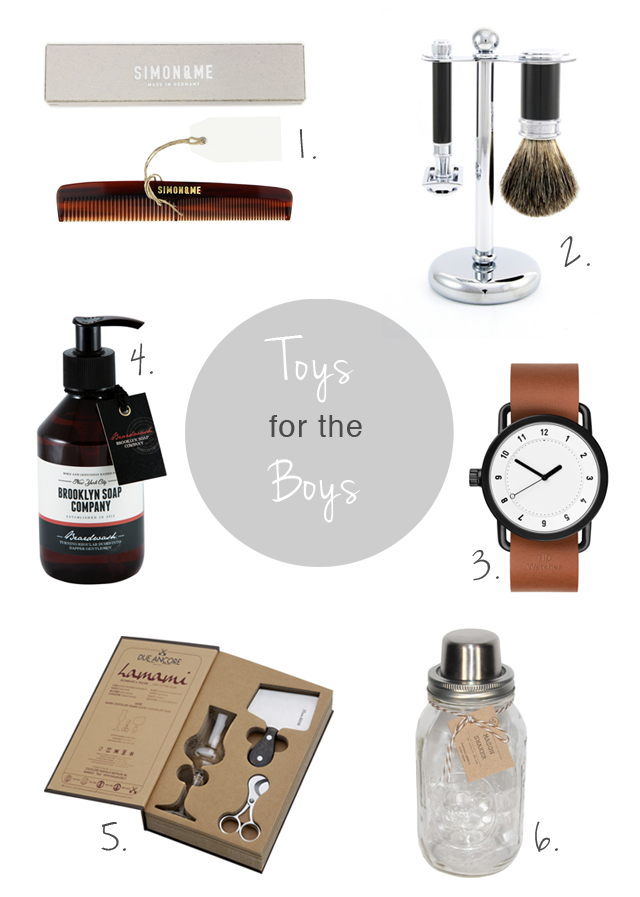Pieces of Mariposa: Holiday Gift Guide // Toys For The Boys