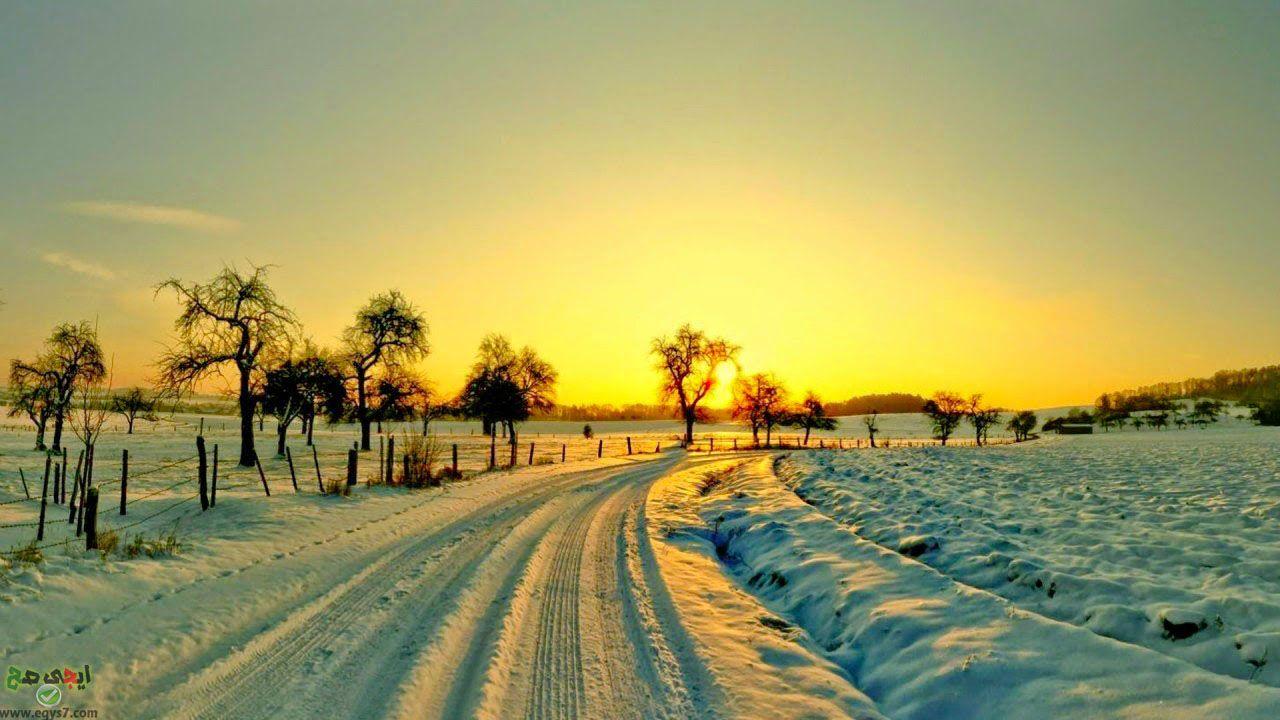 صور Hd خلفيات اتش دى عالية الجوده Sunset Wallpaper Winter Pictures Scenery Wallpaper