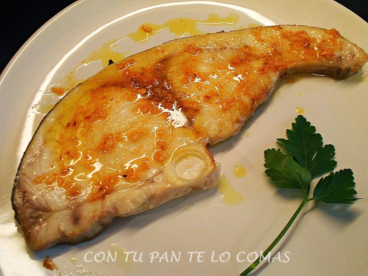 Con tu pan te lo comas emperador con salsa de cominos for Cocinar pez espada