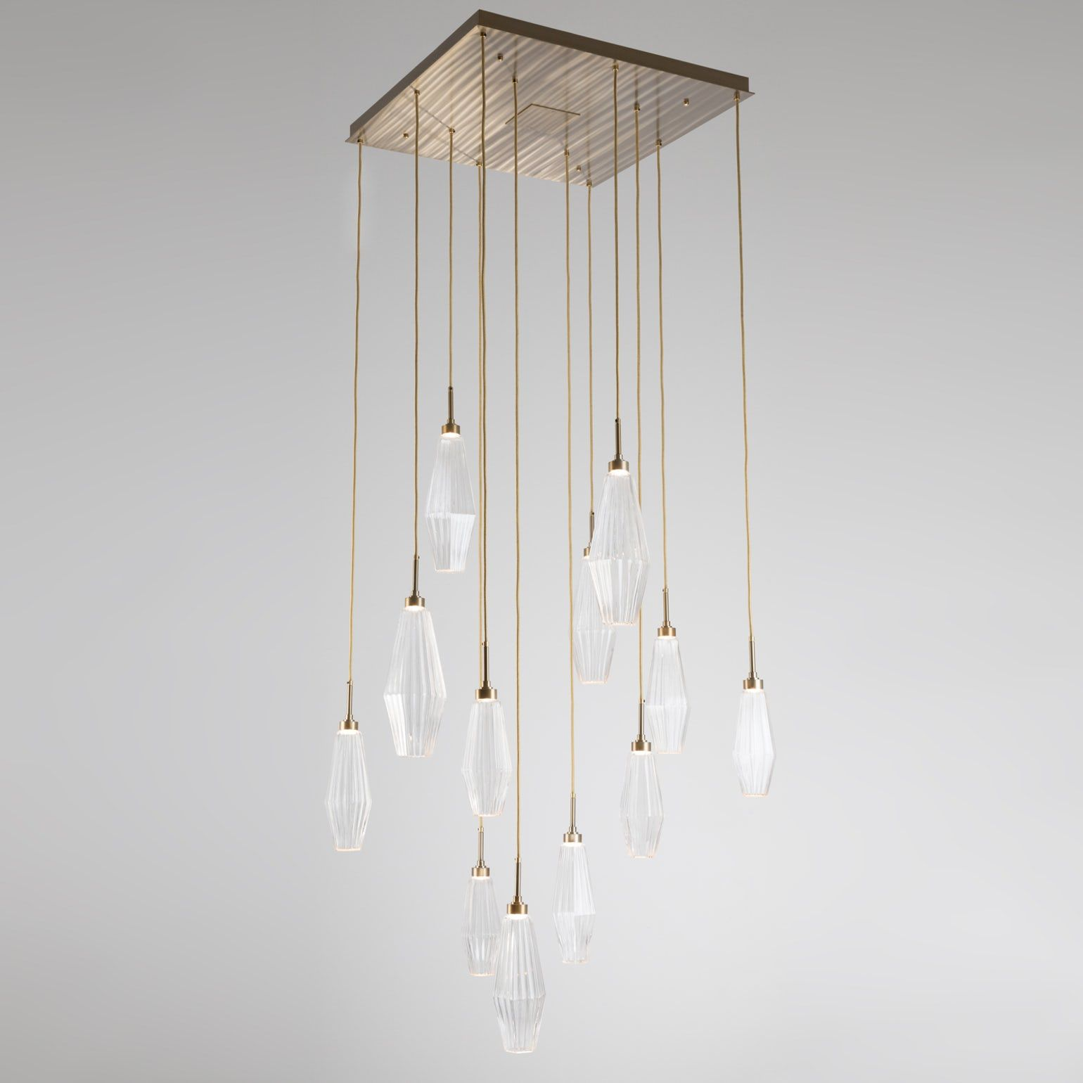 Aalto Large Square Multi Port Chandelier In 2019 Mid