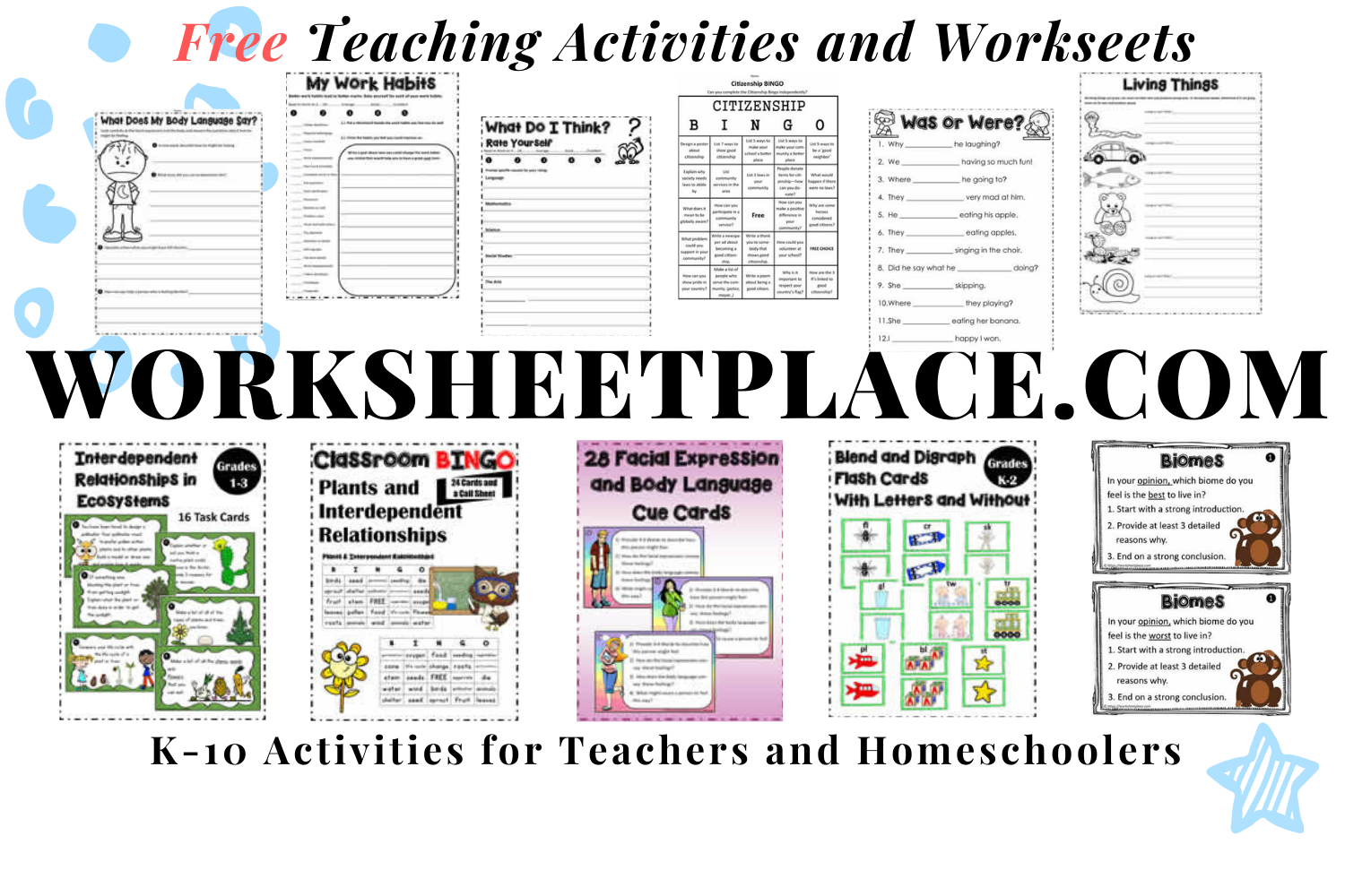 Are You Looking For Free Teaching Activities And Free