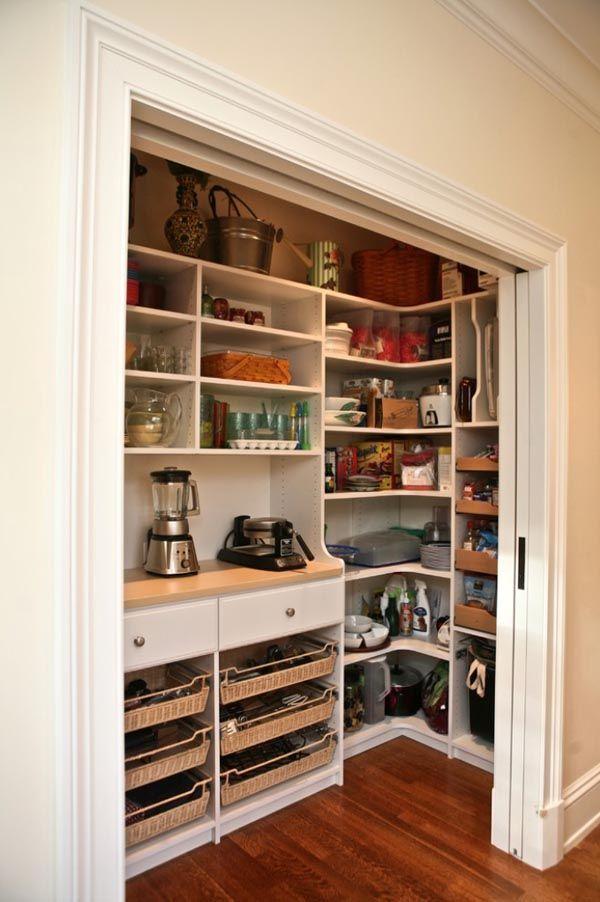 53 Mind-blowing kitchen pantry design ideas #kitchenpantrydesign