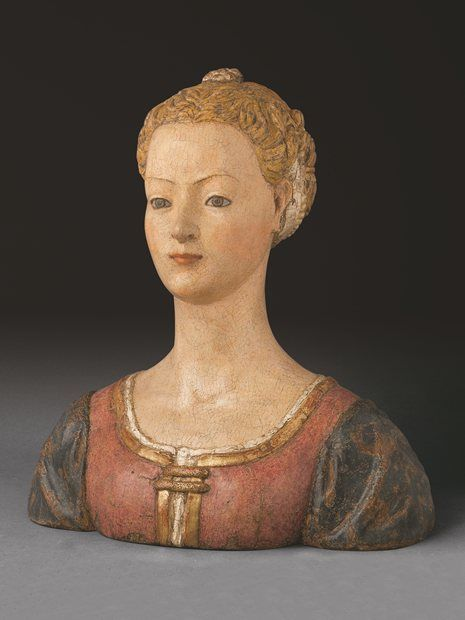 Antonio del Pollaiolo - Portrait of young woman - Vespucci Family? - around 1465 - 70  -