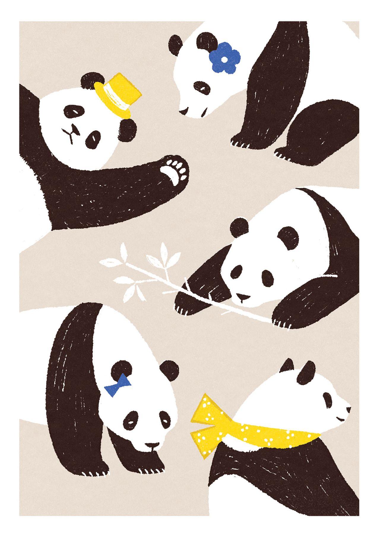 パンダ」おしゃれまとめの人気アイデア|pinterest |to ん | pinterest