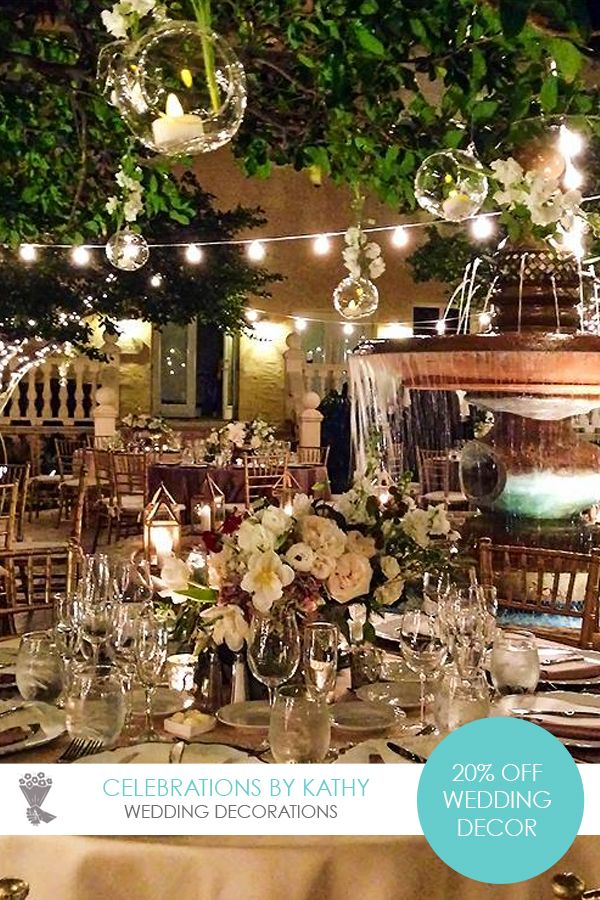 Get 20 off your wedding decor by celebrations by kathy best miami get 20 off your wedding decor by celebrations by kathy best miami wedding deals junglespirit Gallery