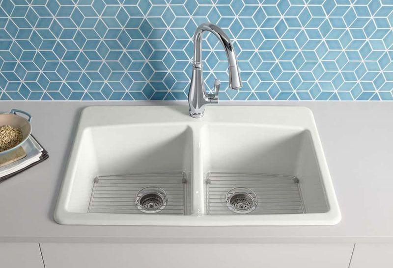 30 Inch Cast Iron Undermount Kitchen Sink Cast Inch Iron Kitchen Sink Undermount In 2020 Sink Faucets Sink Top Mount Kitchen Sink