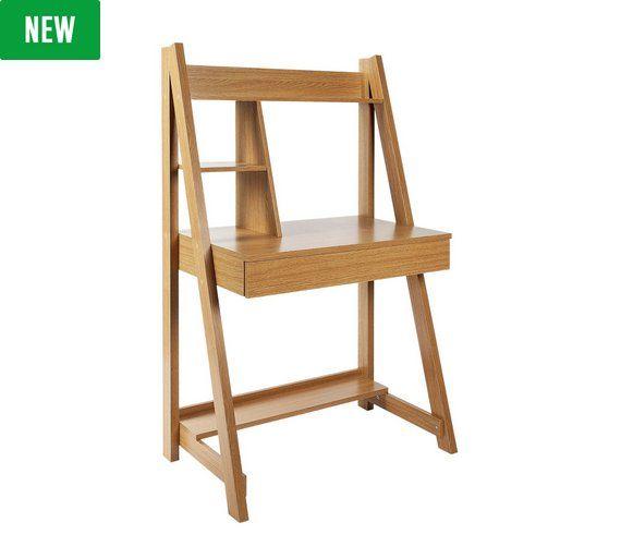 Buy Argos Home Tall Unit with Shelf & Drawer   Desks ...