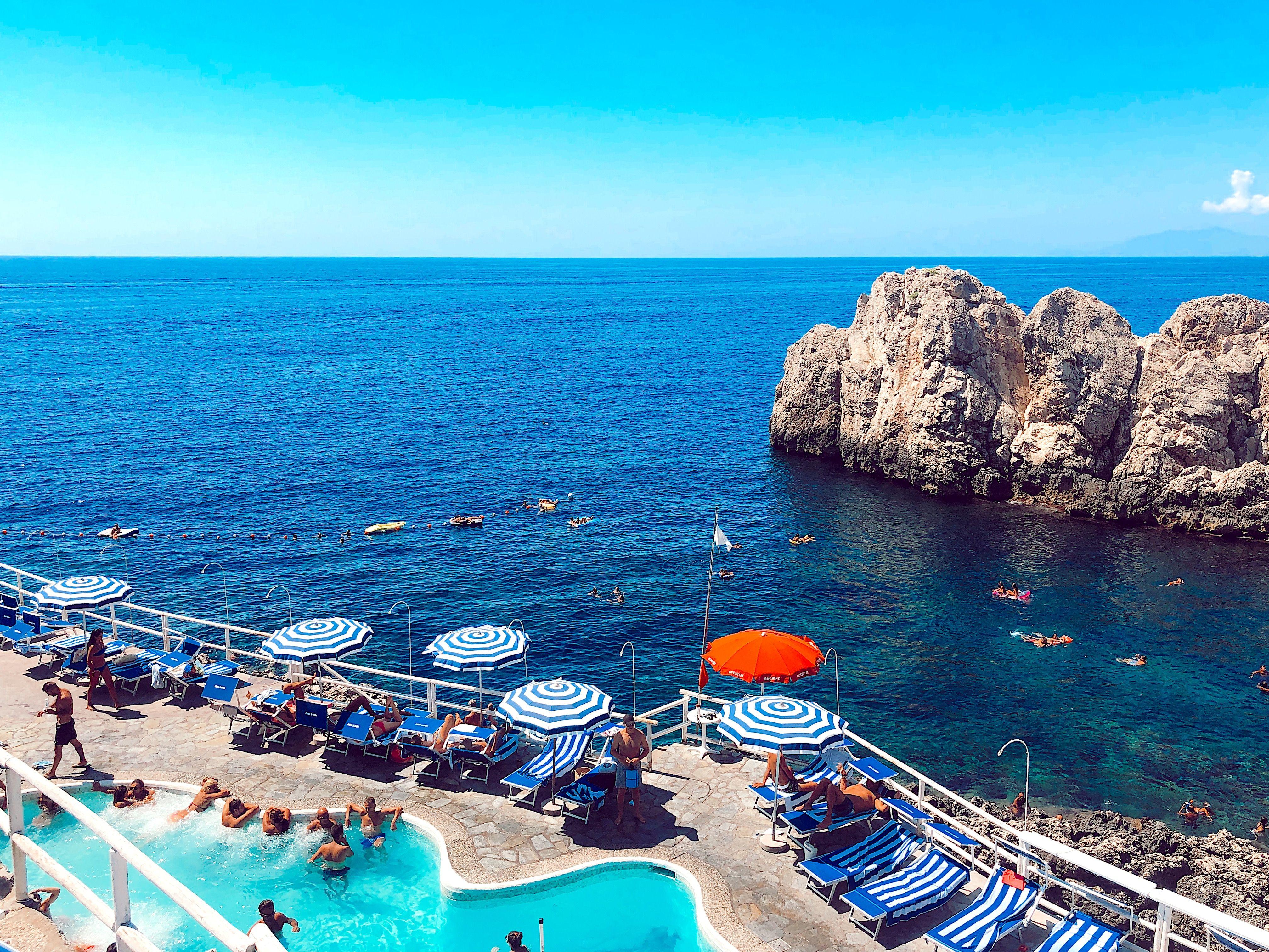 Gray Malin - Capri | Photography, Beach scenes, Dolce vita  |Capri Beach Scenes