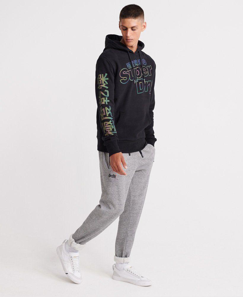 Mens Tonal Reactive Hoodie In Black Superdry Mens Casual Outfits Mens Sweatshirts Hoodie Hoodies Men [ 1000 x 820 Pixel ]