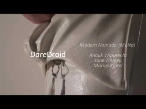 DareDroid: Biomechanic cocktail making dress