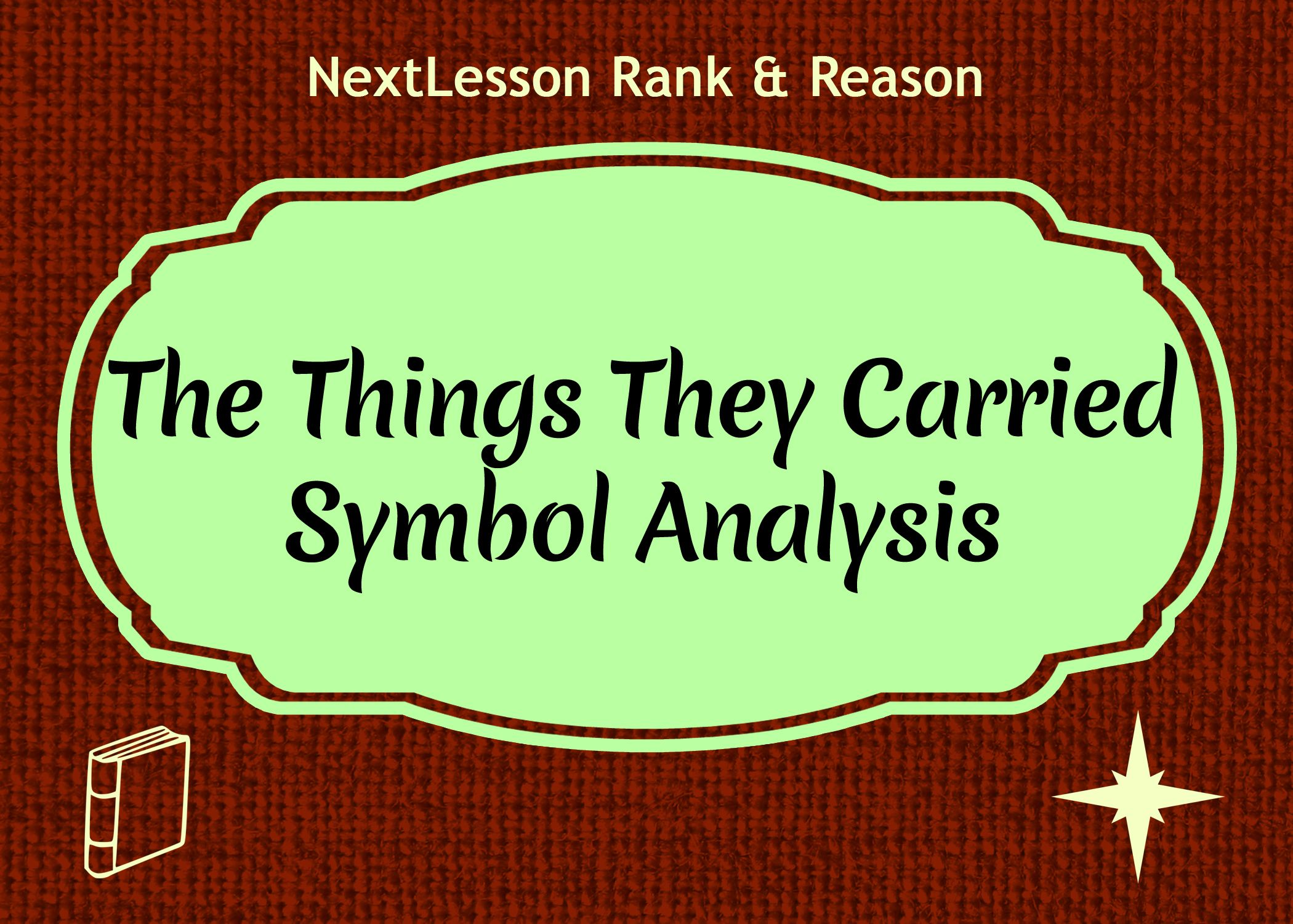 literary analysis tim o brien Tim o'brien's the things they carried has 432 ratings and 59 reviews   reading and study guides for some of the world's most important literary  masterpieces.