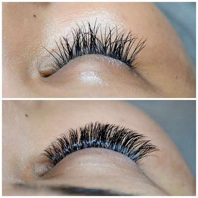e560330679d Lash emergency!! This new client came to us last week because she had her