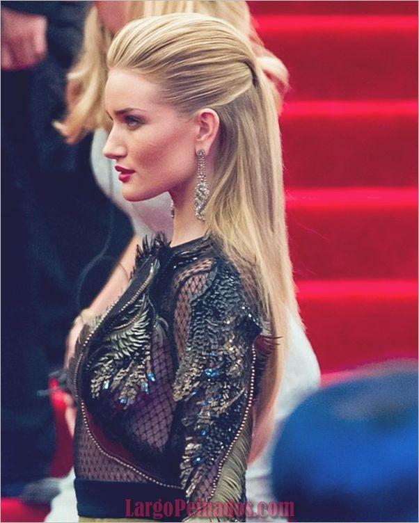 45 peinados de fiesta de alta moda para cabello largo