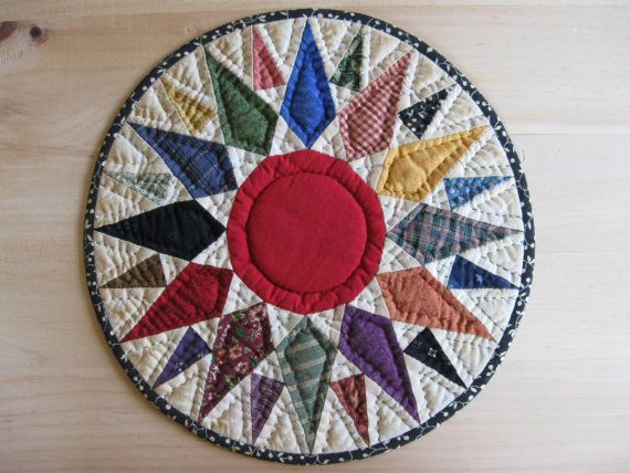 awesome trivet   Quilted table toppers, Quilted table mat ...