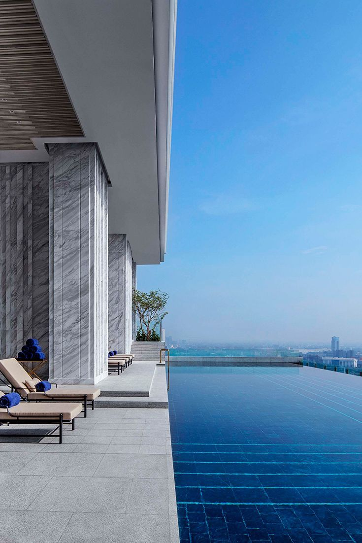 Swimming Pool On Top Of Building In Singapore Swimming Pools