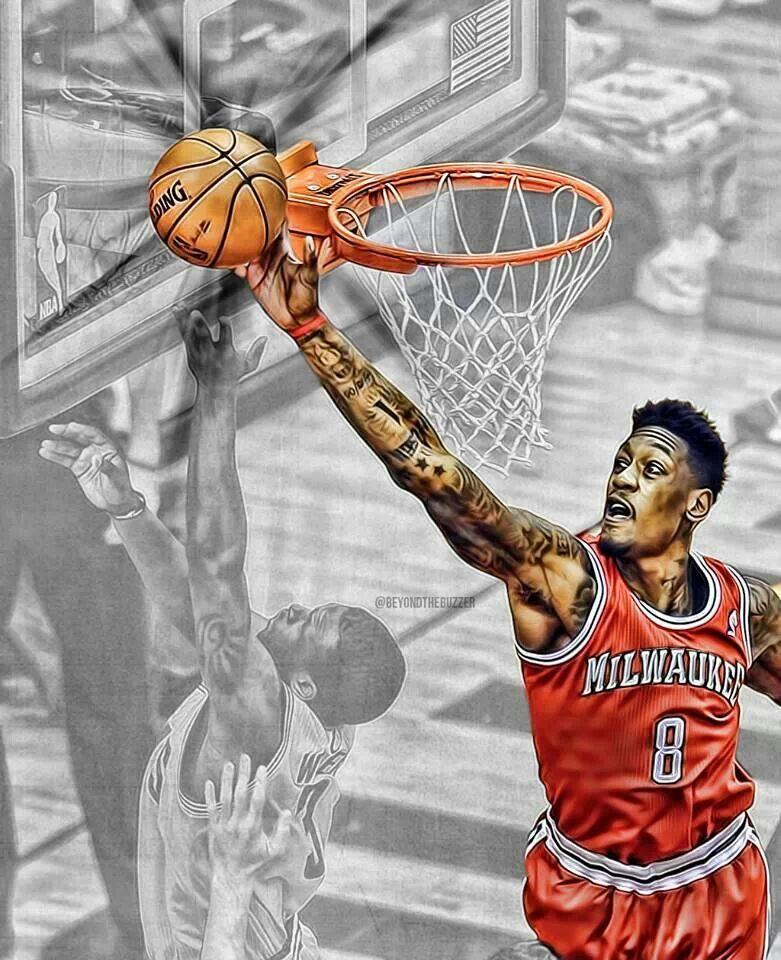 Larry Sanders Basketball art, I love being black, Black