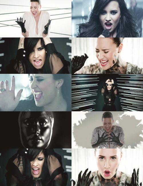 I Love Demi S Different Looks In The Heart Attack Video The Bare Beauty Look Really Accentuates Her Smile But Demi Lovato Heart Attack Demi Lovato Lovato