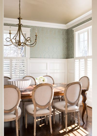 Traditional Dining Room by Homegrown Decor, LLC (With ...