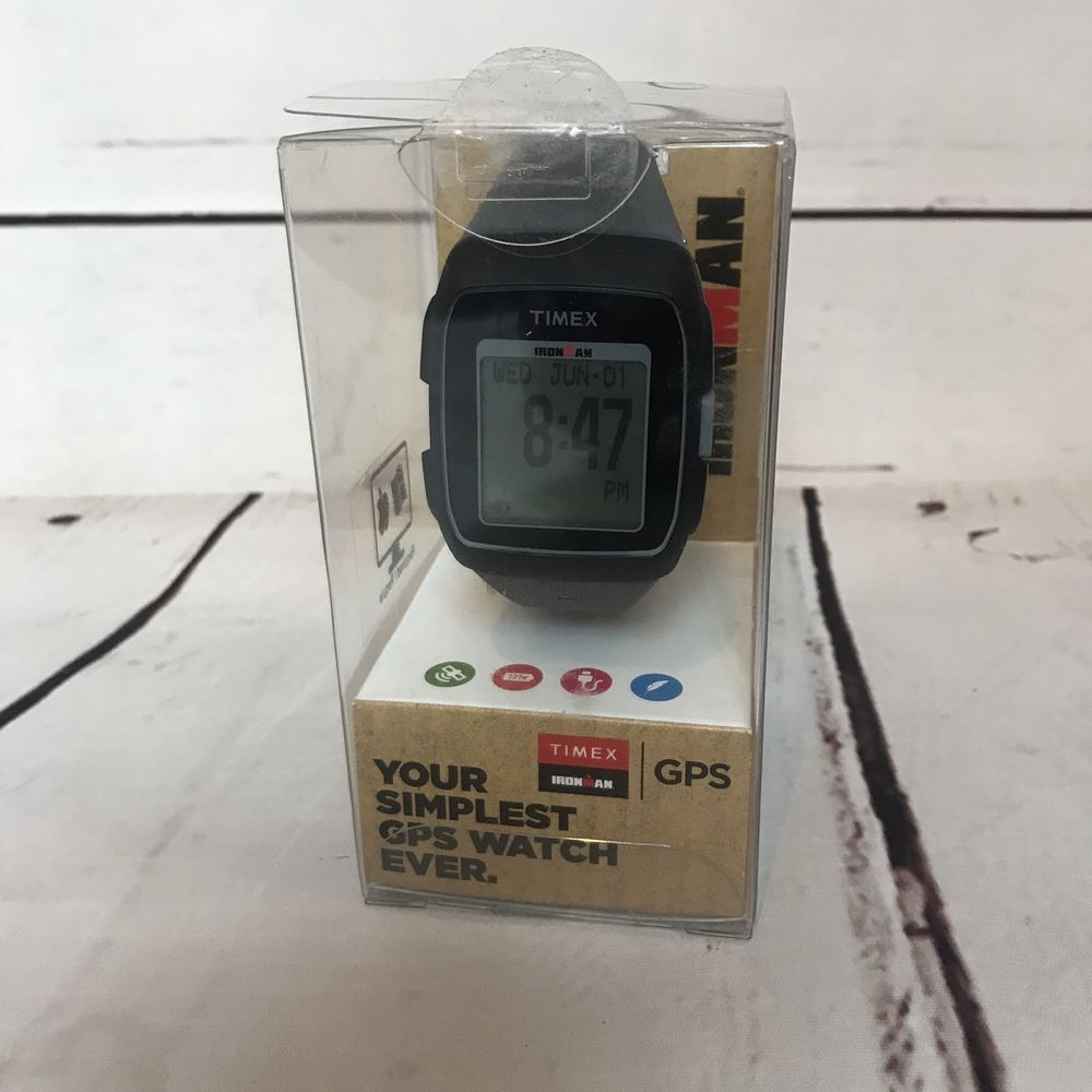 9d271ad3e6ec Timex Ironman GPS Silicone Strap Watch   TW5M11800