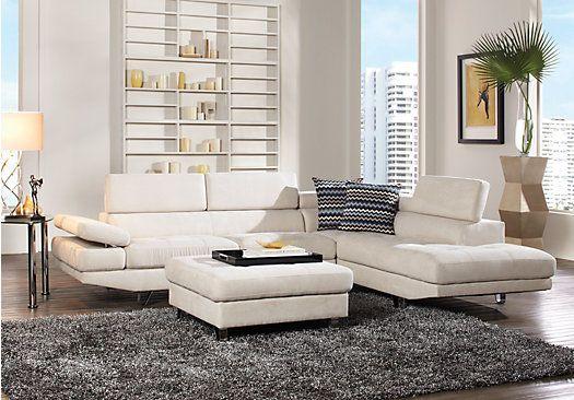 Calverton park beige 3pc sectional living room in 2019 - Hilton furniture living room sets ...