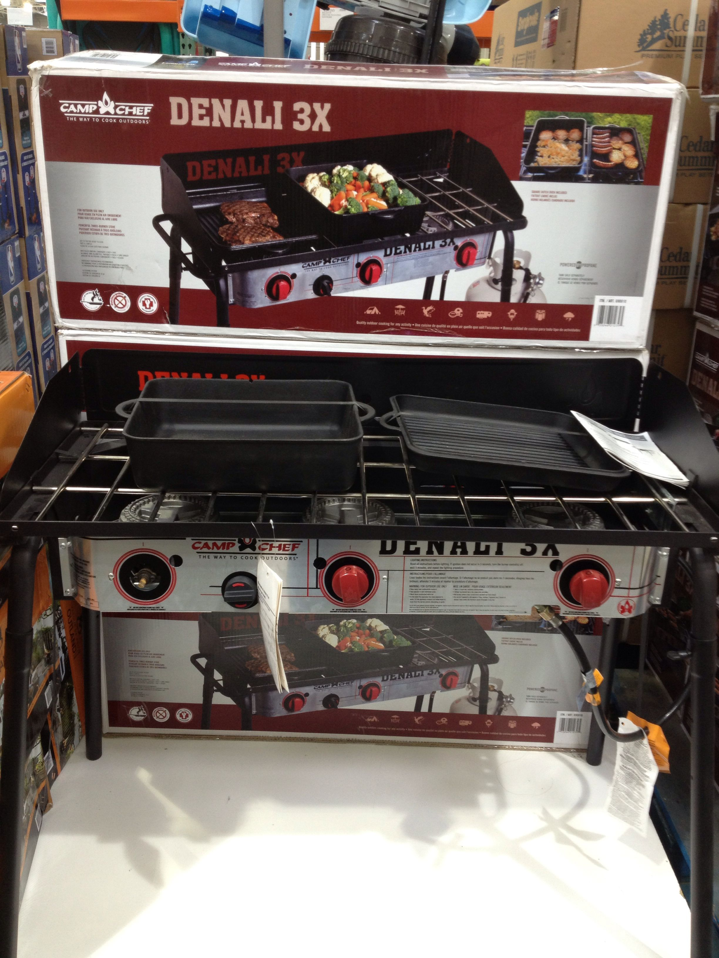 Picked Up My New 3 Burner Camping Stove From Costco   It Comes With