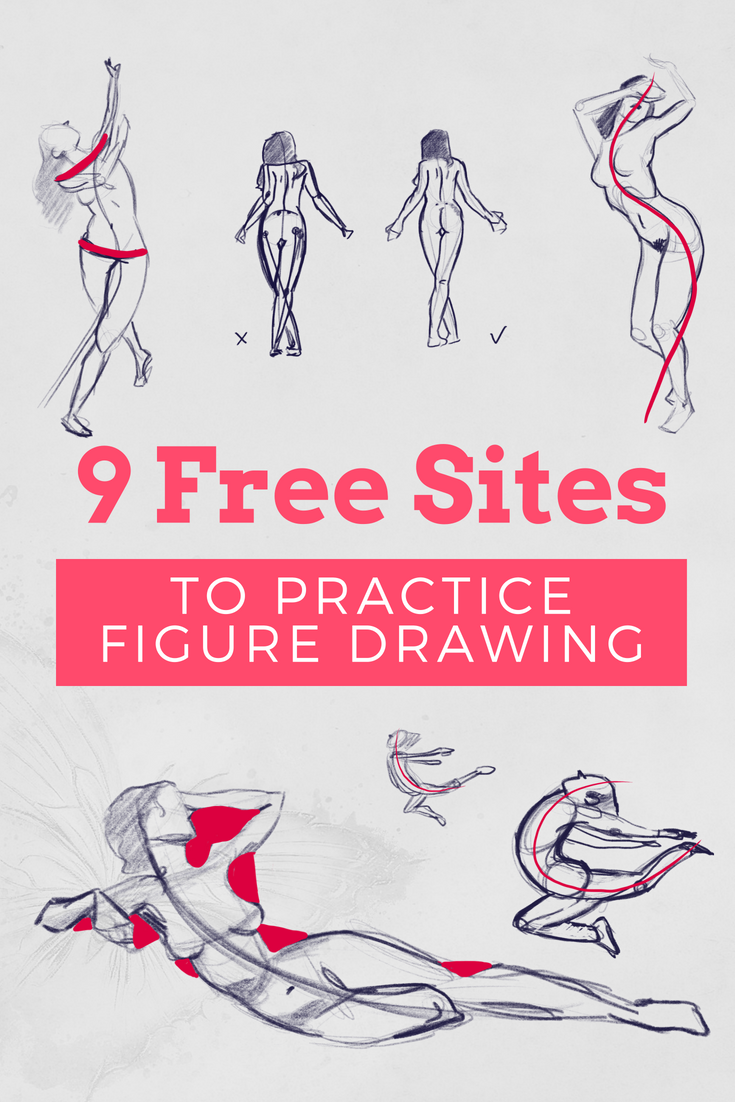 Best 9 Free Pose Reference Sites To Practice Figure Drawing Online
