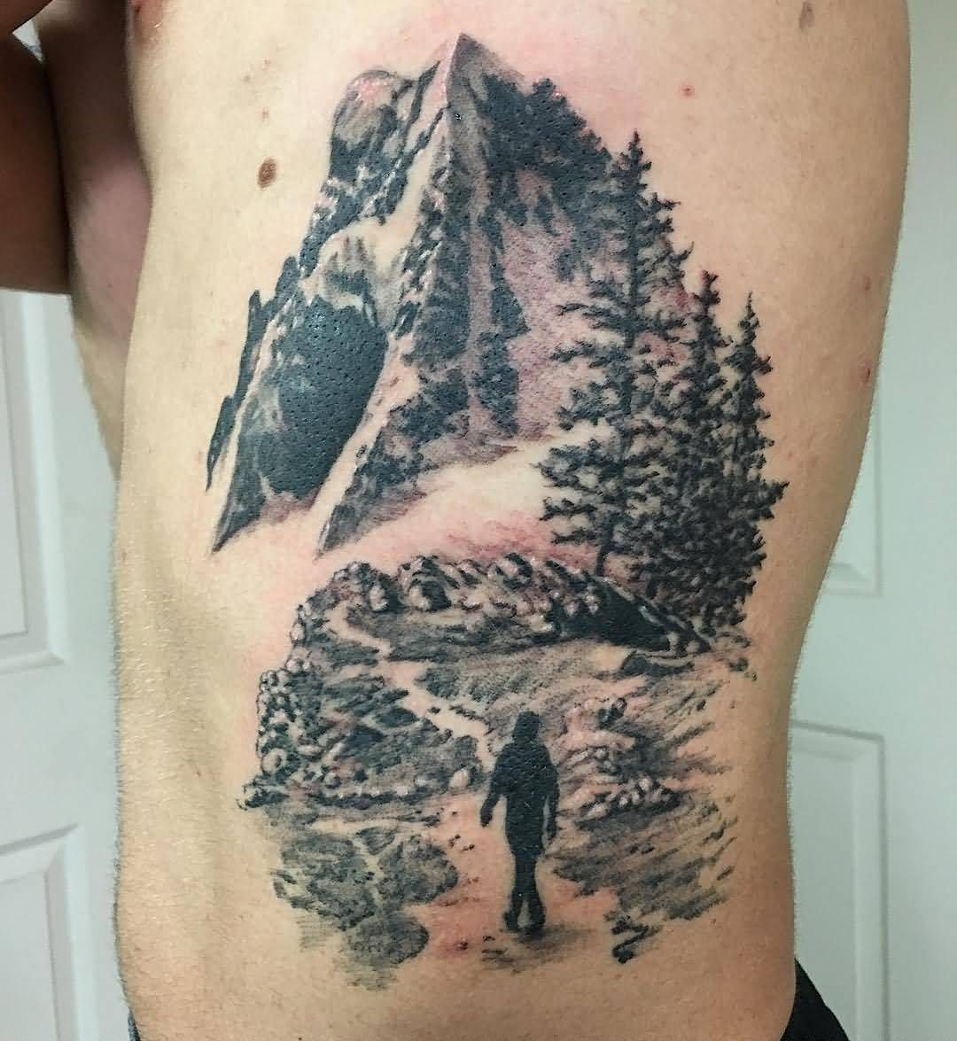 pingl par karin sur ren tattoos mountain tattoo et nature tattoos. Black Bedroom Furniture Sets. Home Design Ideas
