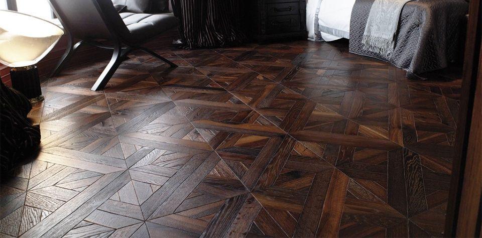 htmlcaption1 Floor design, Herringbone wood floor