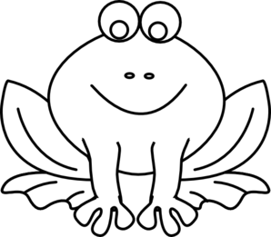 Frog Outline Clip Art Vector Clip Art Online Royalty Free Frog Coloring Pages Frog Outline Camping Coloring Pages
