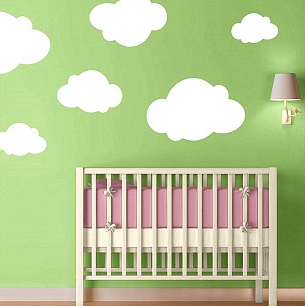 Nursery Wall Decals With Modern Flair