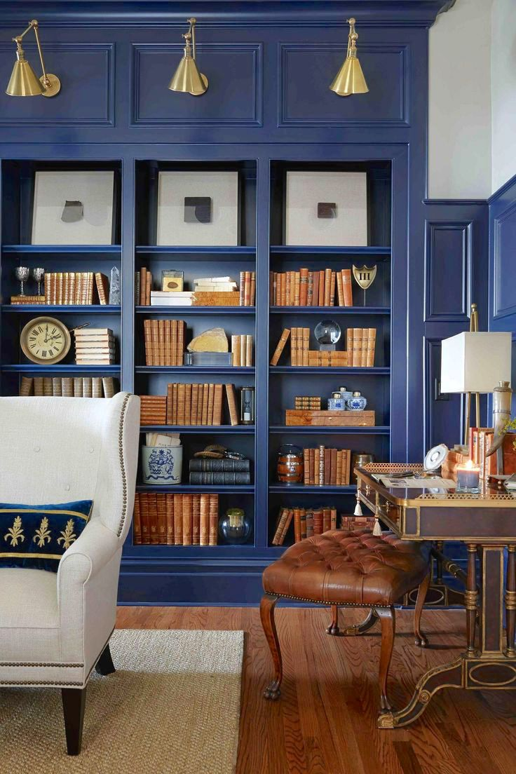 Built In Bookshelf Home Organization Interior Design