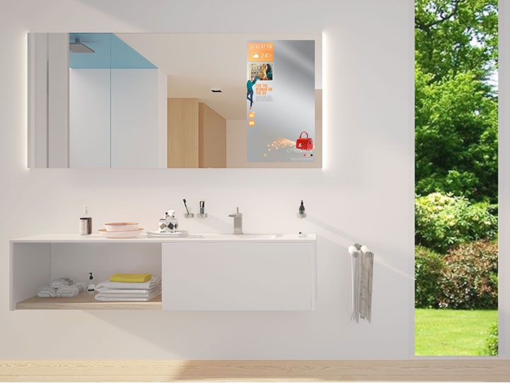 Spiegel Auf Mas : Glas söller streich spiegel