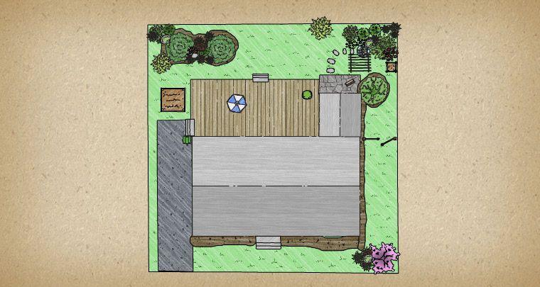 Brownhill Yard With Images Garden Planner Dream Garden Gardena