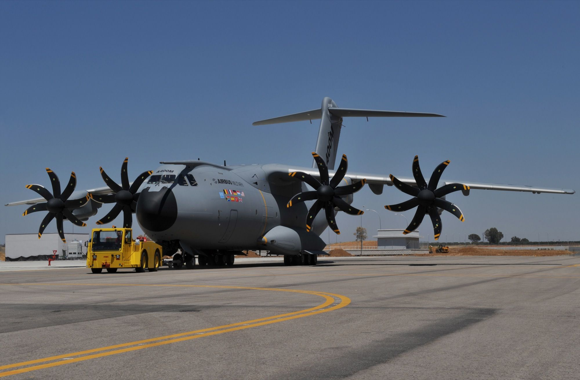 First A400M Military Transporter Rolled Out AirAttack