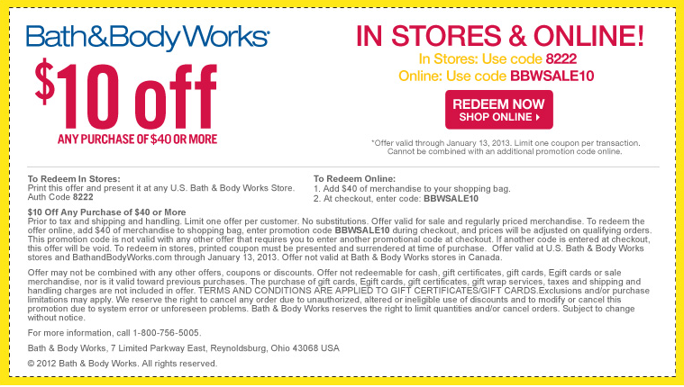 bath and body works printable coupon free gift