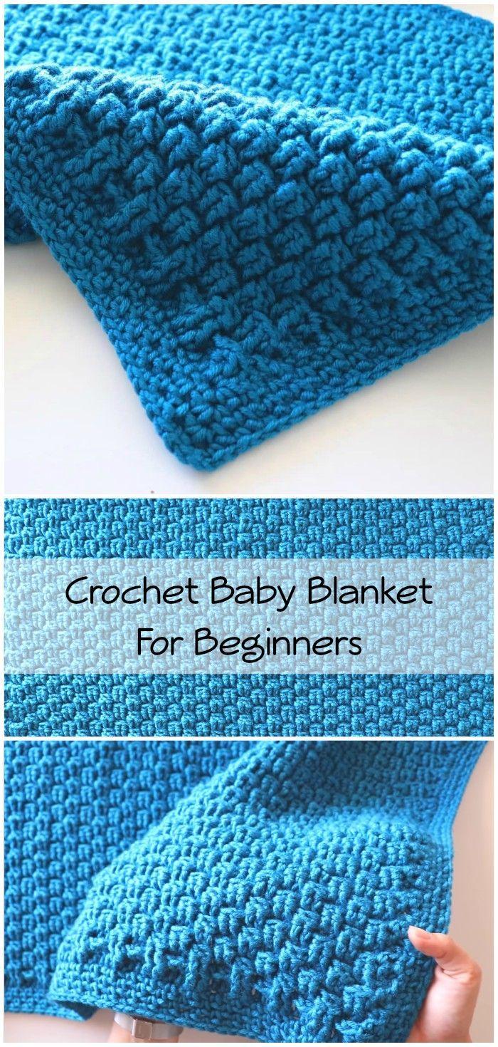 Photo of Crochet Beginner Friendly Baby Blanket