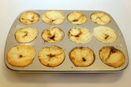 Cobbler baked in muffin tin
