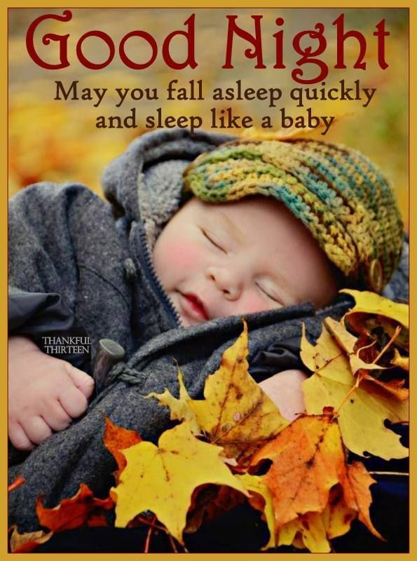 Good Night May You Fall Asleep Quickly And Sleep Like A Baby Good Night Baby Good Night Friends Good Night Wishes