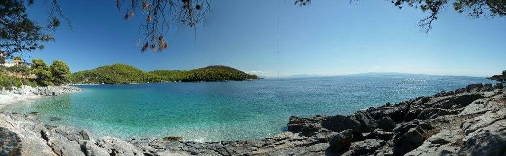 Adrini Beach, Skopelos, Greece